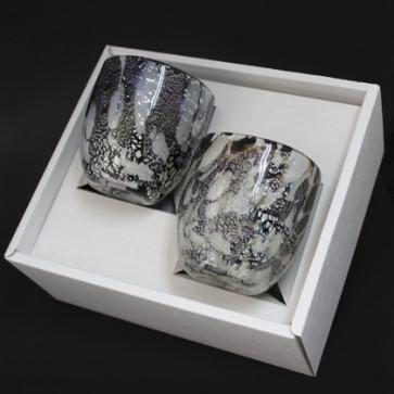 石畳グラス2個ギフトセット