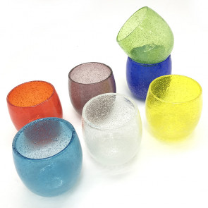 泡たるグラス