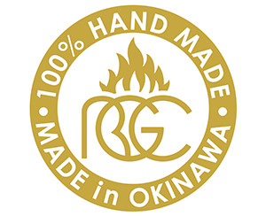 100% HAND MADE in OKINAWA
