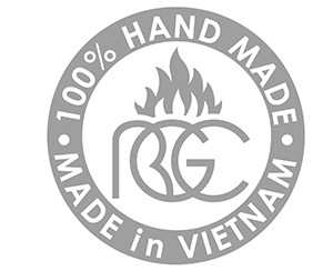 100% HAND MADE in VIETNAM