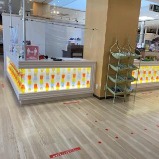 本日より琉球ガラス村ガラスショップ営業しております🙌 ショップカウンターも新しくなりました✨ ソーシャルディスタンスでお並びの途中にでも見てみてください😊
